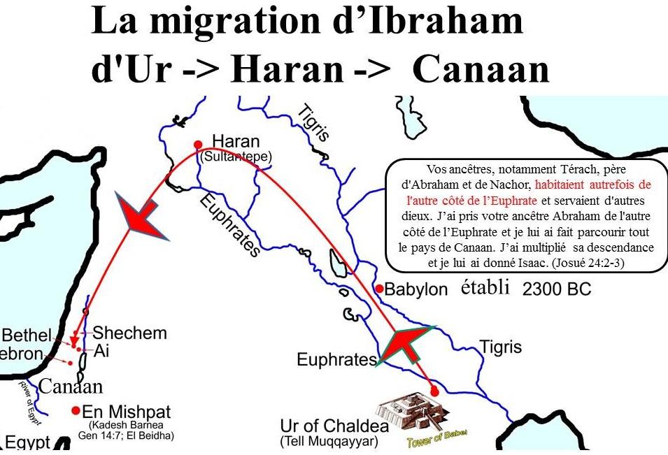 Ibrahim de Babyon a Canaan